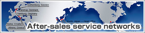 After-sales service networks